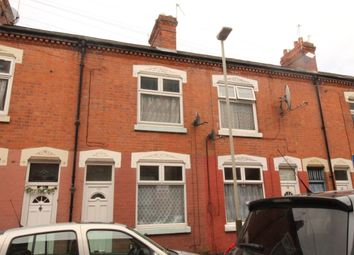 Thumbnail 3 bed terraced house to rent in Law Street, Leicester