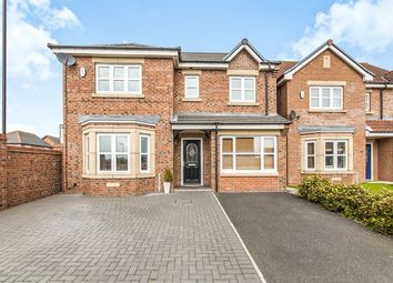 Thumbnail 4 bedroom detached house for sale in Merryweather Rise, Tunstall, Sunderland
