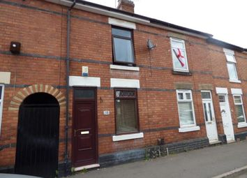 Thumbnail 2 bed terraced house for sale in Stockbrook Road, Derby, Derbyshire