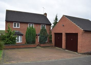 Thumbnail 4 bed detached house to rent in Derwent Road, Stapenhill, Burton