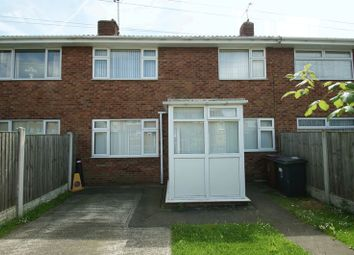 Thumbnail 3 bed terraced house to rent in Hereward Close, Shirebrook, Mansfield