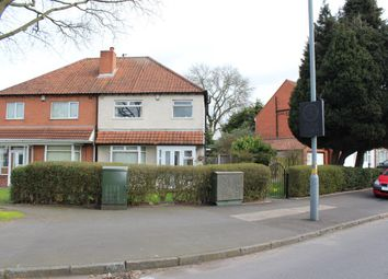 Thumbnail 3 bed semi-detached house for sale in School Road, Hall Green, Birmingham