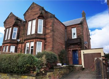 Thumbnail 4 bed semi-detached house for sale in Lockerbie Road, Dumfries