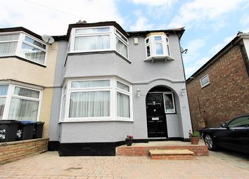 Thumbnail 4 bed semi-detached house for sale in Galliard Road, London