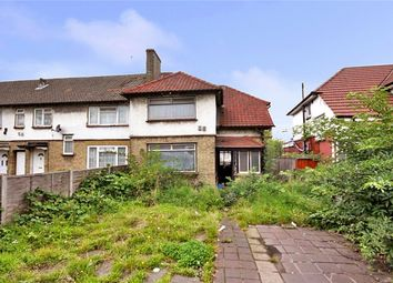 Thumbnail 3 bed end terrace house for sale in North Circular Road, London