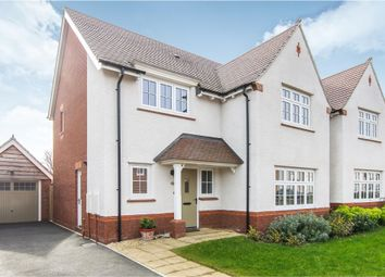 Thumbnail 4 bedroom detached house for sale in Lady Margaret Hall Close, Newport