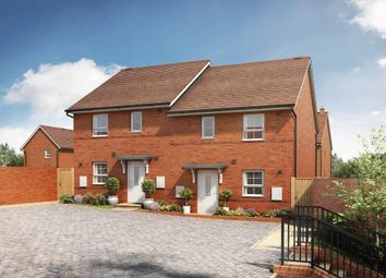"""Thumbnail 3 bed semi-detached house for sale in """"Folkestone"""" at Tingewick Road, Buckingham"""