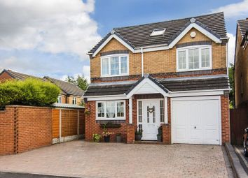 Thumbnail 5 bed detached house for sale in Deavall Way, Heath Hayes, Cannock