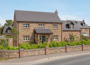 Thumbnail 4 bed detached house for sale in The Street, Caston, Attleborough