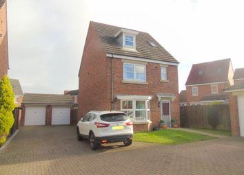 Thumbnail 4 bed town house for sale in Meadow Vale, Shiremoor, Newcastle Upon Tyne