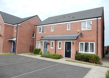 Thumbnail 3 bedroom semi-detached house for sale in Railbank Drive, Workington