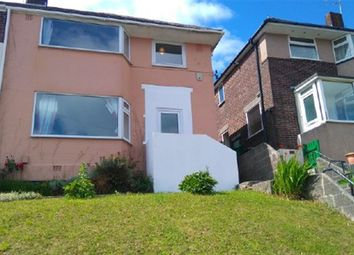 Thumbnail 3 bedroom semi-detached house to rent in Bridwell Road, Plymouth