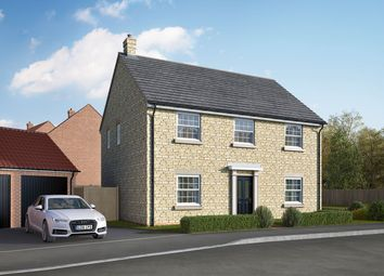 "Thumbnail 5 bed detached house for sale in ""The Byrne"" at Uffington Road, Barnack, Stamford"