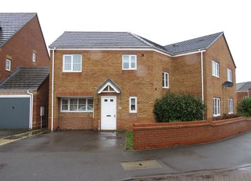 Thumbnail 4 bed semi-detached house for sale in Strauss Drive, Cannock