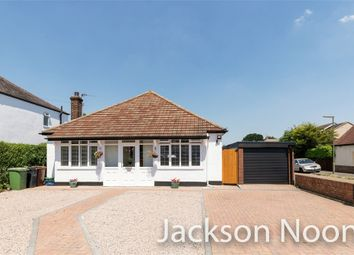 Chessington Road, West Ewell, Epsom KT19. 3 bed detached bungalow