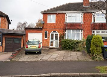 Thumbnail 3 bed semi-detached house for sale in Senneleys Park Road, Birmingham