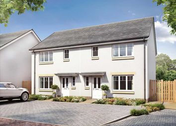 Thumbnail 3 bed semi-detached house for sale in Redwood Crescent, The Colonsay, East Kilbride