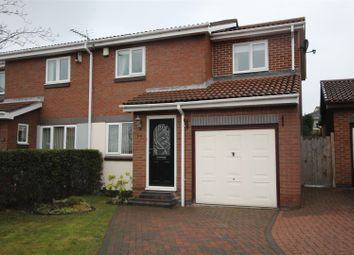 Thumbnail 3 bed semi-detached house for sale in Cinderford Close, Boldon Colliery