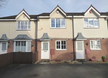 Thumbnail 2 bed town house for sale in Bowlers Close, Festival Heights, Stoke-On-Trent