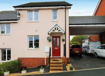 Thumbnail 3 bed semi-detached house for sale in Triumph Place, Teignmouth