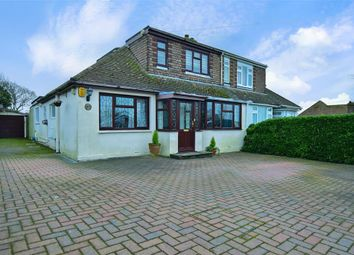 Thumbnail 4 bed semi-detached bungalow for sale in The Ridgway, Woodingdean, Brighton, East Sussex