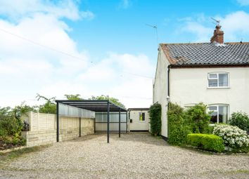 Thumbnail 3 bed semi-detached house for sale in Mill Road, Mutford, Beccles