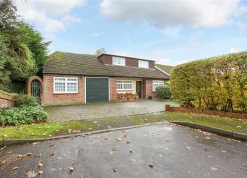 Thumbnail 4 bed detached bungalow for sale in Wheatsheaf Close, Ottershaw, Chertsey, Surrey