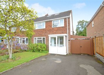 Thumbnail 4 bed semi-detached house for sale in Ashbrook Road, Old Windsor, Windsor