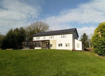 Thumbnail 3 bedroom detached house for sale in Trefeglwys, Caersws