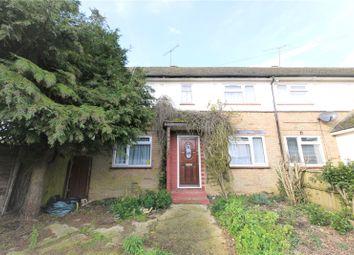Thumbnail 2 bed end terrace house for sale in Stuart Close, Pilgrims Hatch, Brentwood, Essex