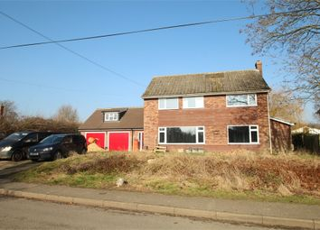 Thumbnail 5 bedroom detached house for sale in Forest Road, Onehouse, Stowmarket, Suffolk