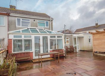 Thumbnail 3 bed semi-detached house for sale in Fairfield Close, St. Austell
