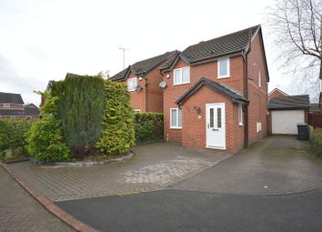 Thumbnail 3 bed detached house for sale in Mottram Close, Grappenhall, Warrington