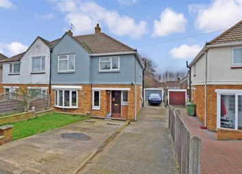 Thumbnail 3 bed semi-detached house for sale in Northumberland Road, Maidstone, Kent