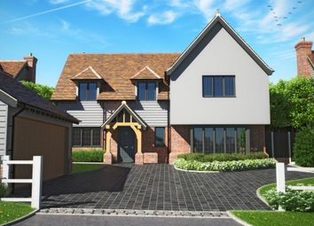 Thumbnail 5 bed detached house for sale in The Meadows, Hare Street, Buntingford