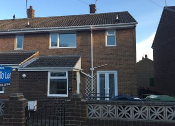 Thumbnail 3 bed end terrace house to rent in St Michaels, Houghton Le Spring