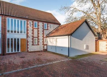 Thumbnail 3 bed barn conversion for sale in Hall Lane, Northwold, Thetford