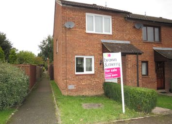 Thumbnail 2 bed end terrace house for sale in Medhurst, Two Mile Ash, Milton Keynes