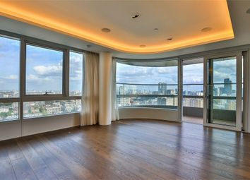 Thumbnail 3 bed flat to rent in Canaletto Tower, London