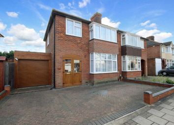 Thumbnail 3 bedroom semi-detached house for sale in Castle Road, Bedford