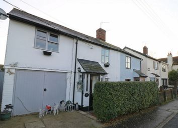 Thumbnail 3 bed cottage for sale in Weeley Road, Aingers Green, Colchester, Essex