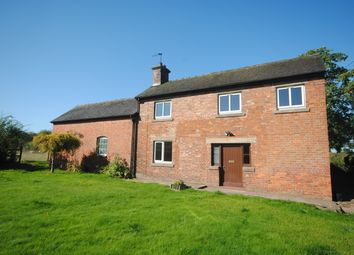 Thumbnail 2 bed detached house to rent in Moss Lane, Cheswardine, Market Drayton