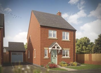 Thumbnail 3 bed detached house for sale in The Aldersbrook, Chamberlain Place, Bosworth Road, Measham