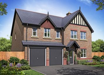 "Thumbnail 5 bed detached house for sale in ""Plot 102 - The Lavenham"" at Cuddington Lane, Cuddington, Northwich"