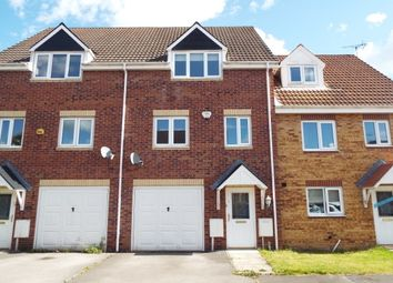 Thumbnail 3 bed town house to rent in Dewberry Gardens, Forest Town, Mansfield