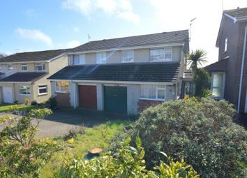 Thumbnail 3 bed semi-detached house for sale in Hobbs Crescent, Saltash, Cornwall