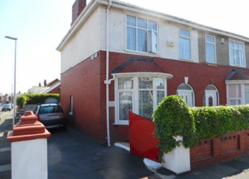 Thumbnail 3 bed semi-detached house for sale in Hall Avenue, Blackpool