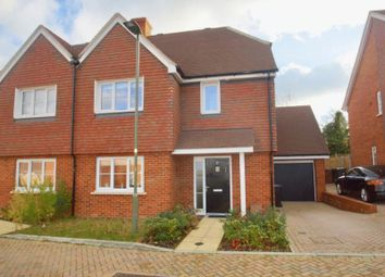 Thumbnail 3 bed semi-detached house for sale in Skylark Close, Epsom