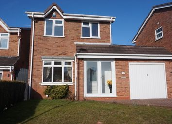 Thumbnail 3 bed detached house for sale in Cheviot, Wilnecote, Tamworth