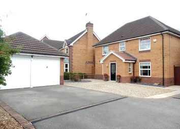 Thumbnail 4 bedroom detached house for sale in Red Kite Close, Gateford, Worksop